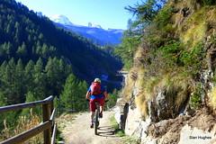 Autumn Riding in Zermatt Switzerland  (40) (Carl and Sian) Tags: sian carlandsian cycling singletrack sianandcarl skiing mountainbiking mountainbike mountainbikes orangemountainbikes