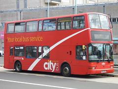 Plymouth Citybus PK02RDU (Devon and cornwall Bus Spotter) Tags: plymouth citybus pk02rdu 482 dennis trident derriford hospital bus devon 34