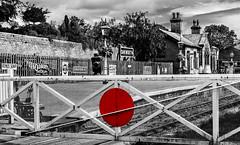 7972   Oakworth Station (foxxyg2) Tags: mono monochrome bw blackwhite history historical railways engineering steam trains locomotives victoria victorian kwvr keighley worth valley railway films movies books novels therailwaychildren