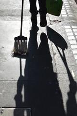 Brewer St. 25sep18 (richardbw9) Tags: london uk city street urban streetshot streetphoto streetphotography shadow shadowplay brewerstreet soho broom brush cleaner legs feet dustpan streetsweep westminster overexposed