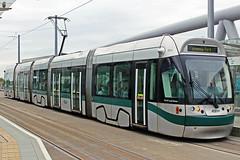 Nottingham Express Transit 201 (Sam Pedley) Tags: 201 bombardier nottinghamexpresstransit torvillanddean incentro at65 incentroat65 bombardierincentro nottinghamstation bombardiertransportation adtranz tram net netline2 vehicle