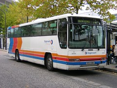 United Counties K153 DNV (quicksilver coaches) Tags: volvo b10m plaxton premiere interurban stagecoach unitedcounties miltonkeynes k153dnv
