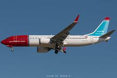 Norwegian B737-8MAX LN-BKC Unicef (José M. Deza) Tags: 20180928 b7378max bcn boeing elprat lebl lnbkc norwegain planespotting spotter aircraft