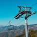 Chair Ski Lift at the Mountain Range