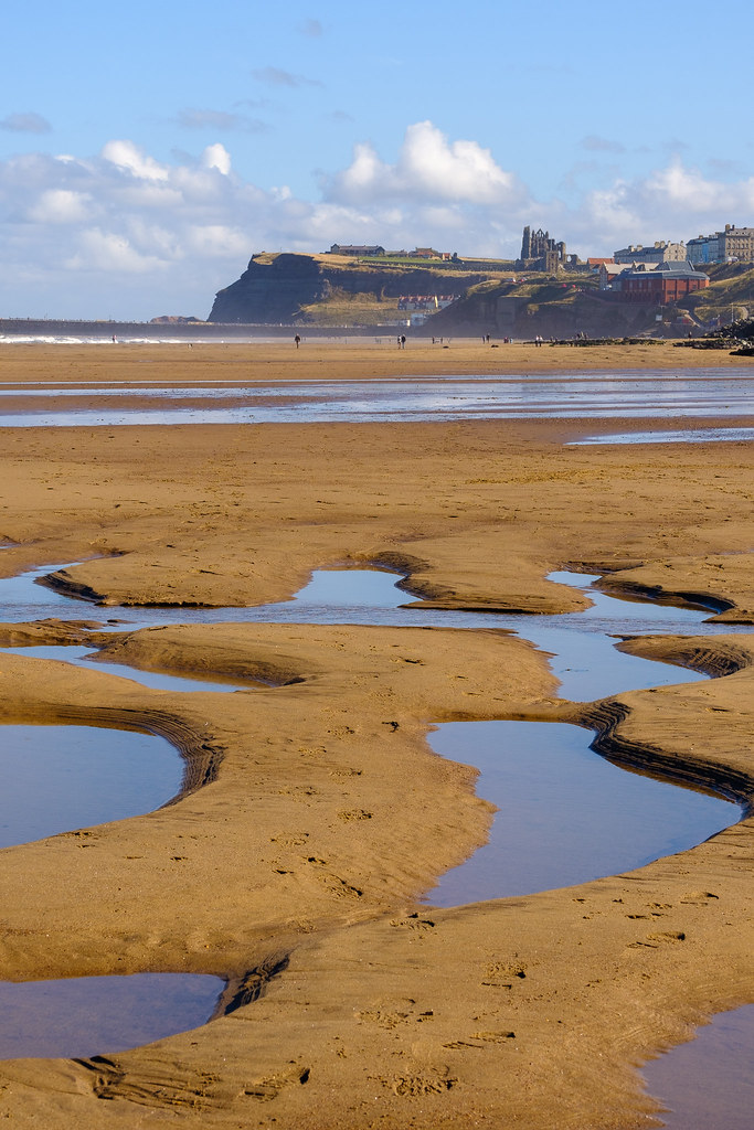 Whitby, with a walk to Sandsend.