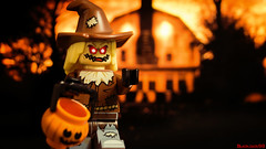 Soon to your door (black.zack00) Tags: halloween lego minifig minifigure toy toys afol scraw fun photography