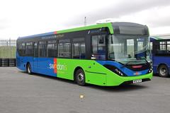 2775 HF67 ATV (1) (ANDY'S UK TRANSPORT PAGE) Tags: buses castledonington showbus2018 thamesdowntransport