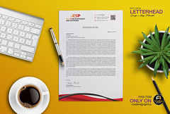 Esp Letterhead Red (anupfpi@ymail.com) Tags: brand identity stationary branding letterhead business card