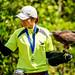Female Harris Hawk, Akari and Bird Master Girl : ハリスホークの朱里とバードショーのお姉さん