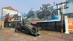 Call of Duty (ec1jack) Tags: callofduty advert billboard shoreditch oldstreet hackney london england britain uk europe ec1jack canoneos600d kierankelly jeep october 2018 autumn video game