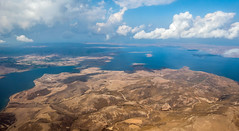 The North Aegean Island of Limnos (Greece)  (Panasonic Lumix LX15 Compact) (1 of 1) (markdbaynham) Tags: greece greek aerial fromabove greekisland hellas hellenic flying grecia greka aegean panasonic panasoniclumix panasoniccompact lx10 lx15 dmclx15 dmclx 1 1inch oneinch oneinchsensor lumix lumixer compact highendcompact fixedlens fixedzoom limnos lemnos aegeanisland