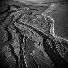 Shape of the Tide #3 (LowerDarnley) Tags: holga pei princeedwardisland lowerdarnley beach shore coast sand water tide atlanticcanada maritimes