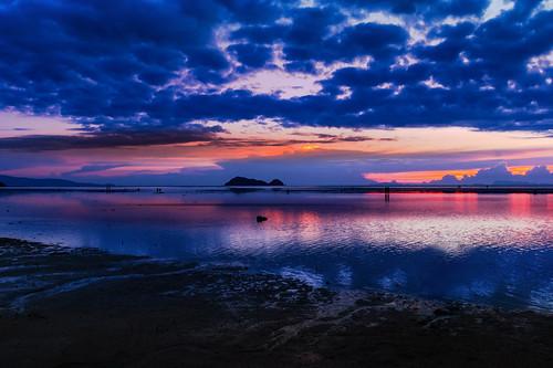 Magic Sunset on Koh Phanghan