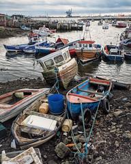 Paddy's Hole (Anologital) Tags: paddys hole redcar middlesborough england teeside industrial harbour boats fishing uk olympus omd em1 1240 zuiko