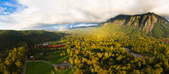 A Sign (John Westrock) Tags: landscape nature mountains clouds rainbow trees autumn fall washingtonstate pacificnorthwest djimavicpro2 dronephotography snoqualmie washington unitedstates us johnwestrock