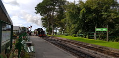 2018 0924 489 (SGS8+) Woody Bay; Lynton & Barnstaple Railway (Lucy Melford) Tags: samsunggalaxys8 lynton lynmouth woody bay steam railway