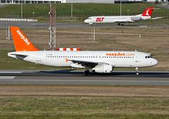 G-TTOH Airbus A320 Easyjet (@Eurospot) Tags: gttoh airbus a320 easyjet lfbo toulouse blagnac