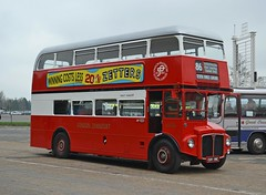 Preserved CUV 116C (tubemad) Tags: aec routemaster park royal rm2116 cuv116c london transport golden jubilee cobham spring rally