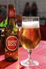 SUPER BOCK (Eliza Frydrych) Tags: beer portugal superbock glass botle