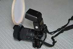 diy flash diffuser (Uncle Tee TX) Tags: flash godox sony a6500 a7ii