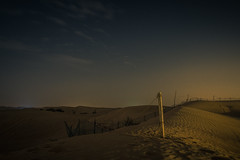Dubai desert (c.bouvard) Tags: dubai desert désert landscape night nature nightscape travel bluehour paysage pentax panorama voyage