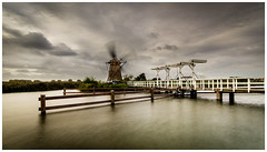 Stormy weather at Kinderdijk (Rob Schop) Tags: kinderdijk samyang12mmf20 f8 nd64 pscc lrcc wind motion storm sonya6000 hoyaprofilters