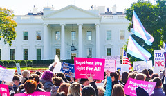 2018.10.22 We Won't Be Erased - Rally for Trans Rights, Washington, DC USA 06825