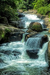 water falls (Steve4343) Tags: steve4343 nikon d70s trail national forest red green blue yellow orange white clouds sky beautiful autumn beauty county lake cloud colorful woods garden gardens happy leaves rocks wildlife landscape mountain tree trees grass water wood summer spring macro flower flowers black northern thailand falls