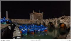 Essaouira by night (MarcEnGalerie) Tags: vacances voyage poselongue nightly morocco barque maroc nocturnal nocturne longexposure essaouira mar