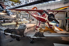 Smithsonian Air and Space Museum Udvar-Hazy Center (Steve Holsonback) Tags: udvarhazy smithsonian air space museum dulles virginia aircraft sony a7rii monocoupe 110 special littlebutch junkers ju 523m