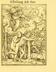 This image is taken from Page 23 of Der Todtentanz von H. Holbein, nach dem Exemplare der ersten Ausgabe im Kgl. Kupferstich-Cabinet zu Berlin in Lichtdruck nachgebildet (Medical Heritage Library, Inc.) Tags: dance death rcplondon ukmhl medicalheritagelibrary europeanlibraries date1879 idb22651263