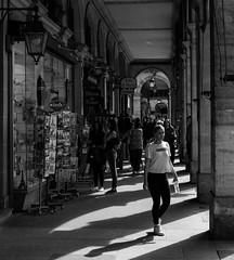 paris 119 (HAKUDO Photography) Tags: paris street streetphotography zeiss alpha7 girl france french black white louvre parislouvre