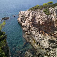 Cove Men (the underlord) Tags: island lokrumisland croatia dubrovnik dalmatia dalmationcoast landscape men figures