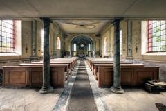 (Michal Seidl) Tags: abandoned church sacral building architecture interior opuštěný kostel verlassene kirche sudetenland sudety czech bohemia hdr canon urbex decay lost