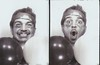 Cihan with his balloons (melinamilz) Tags: photoautomat