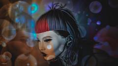 Love & Hate (10 MIX) Tags: secondlife sl ps lr virtual avatar 3d color bubbles edition