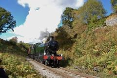 2857 (paul_braybrook) Tags: gwr greatwestern steamlocomotive beckhole grosmont goathland nymr northyorkshiremoors railway trains