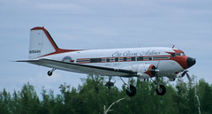 DC-3   N1944H   ANC   20020527 (Wally.H) Tags: douglas dc3 dakota n1944h eraclassicairlines anc panc anchorage airport