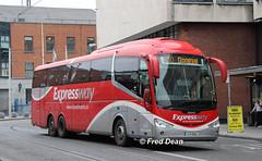 Bus Eireann SE14 (12D19999). (Fred Dean Jnr) Tags: buseireann dublin buseireannroutex30 scania irizar i6 se14 12d19999 busarus september2018 triaxle