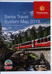 Swiss Travel System Map 2018.  Switzerland. by train, bus and boat. (World Travel library - The Collection) Tags: swisstravelsystemmap 2018 map karte plan carte térkép railways bahn vasút travelbrochurefrontcover frontcover switzerland schweiz suisse svizzera brochure world travel library center worldtravellib helvetia eidgenossenschaft confédération europa europe papers prospekt catalogue katalog photos photo photograph picture image collectible collectors ads holidays touristik touristische trip vacation photography collection sammlung recueil collezione assortimento colección gallery galeria broschyr esite catálogo folheto folleto брошюра broşür documents dokument