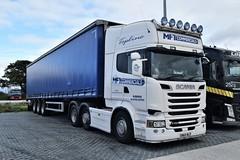 DSC_0010 (richellis1978) Tags: truck lorry haulage transport logistics cannock scania r mft commercials r580 sn65nld v8