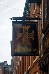 Golden Cross, Coventry (Dayoff171) Tags: coventry gbg gbg2019 pubsigns signs westmidlands unitedkingdom england europe greatbritain
