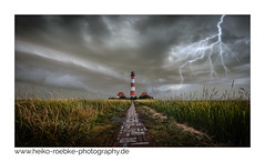 Gewitter / thunderstorm in Westerhever (H. Roebke) Tags: 2018 canon1635mmf28lisiii de architektur color nature germany lighthousethursday rural natur clouds westerhever ndfilter graufilter lightning blitz westerheversand wolken canon5dmkiv sky lighthouse leuchtturm landscape lightroom architecture gewitter thunderstorm greatphotographers
