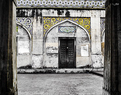 Cultural Rung (AQAS.Clicks) Tags: lahore pakistan mughal architecture building masjid history art ruler walledlahore old structure historical monuments aqas masjidwazirkhan wazirkhan mughalkashikari kashikari ornatelydecorated culturalcolros colors monotones sinnglcolor perspective