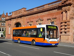 Centrebus 548 Nottingham (Guy Arab UF) Tags: centrebus 548 mh07htc alexander dennis enviro 200 bus nottingham station buses ps winson ww07psw stones leigh jb51bus