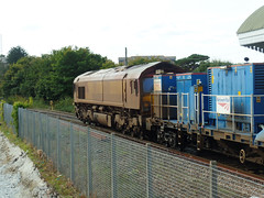 66120 RHTT Falmouth Docks (Marky7890) Tags: dbcargo 66120 class66 3j15 falmouthdocks railway cornwall maritimeline train rhtt