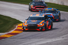 Audi RS3 LMS TCR (Garret Voight) Tags: 2018 audi rs3 lms tcr compassracing rodrigosales kunowittmer continentaltiresportscarchallenge racing motorsports autoracing car racecar sports weathertechsportscarchampionship uscc imsa automobile motorracing automotive roadamerica elkhartlake wisconsin vehicle track circuit corner speed motion blur panning