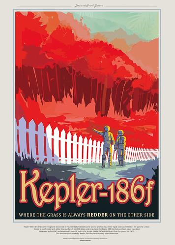 15-Affiche // 50x70 // Kepler 186f