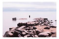 Ищи нас (AStomatin) Tags: analog film sreda ektar beach russia seaman fish baltic sea