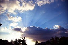 Rays (supercell70) Tags: clouds cloud nature sunset sunsets sky skies sunlight rays ray